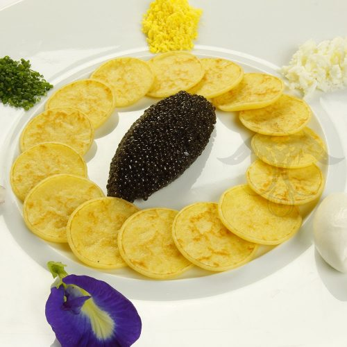 Russian Blini Caviar
