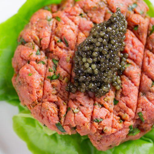 fresh transmontanus caviar white sturgeon