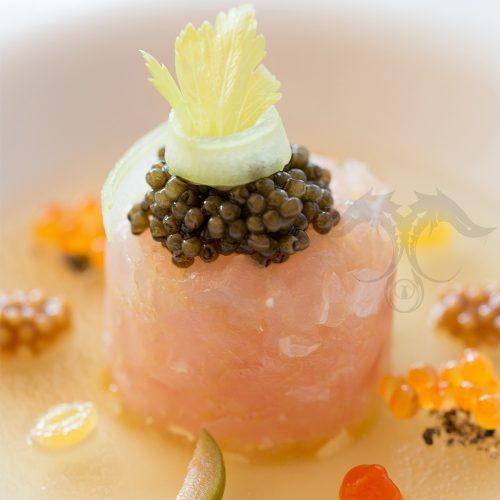 russian ossetra caviar fresh sushi sashimi