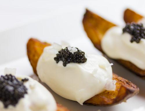 Recipe: Siberian Caviar Potato Wedges