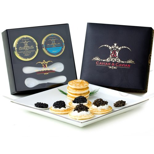 caviar gift box set