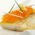 Smoked Trout Filet with Smoked Trout Caviar
