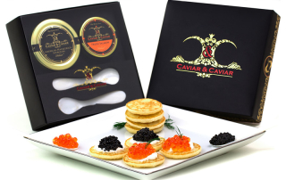 caviar gift basket