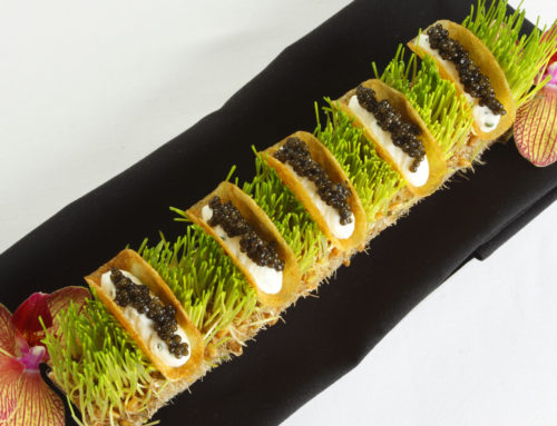 Recipe: Osetra Caviar Tacos