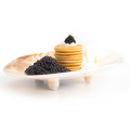 Mother of pearl Oval Caviar Dish Black Caviar