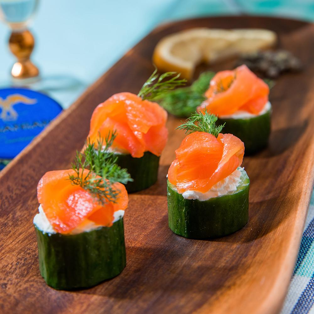 Sasanian's Sustainable Smoked Salmon